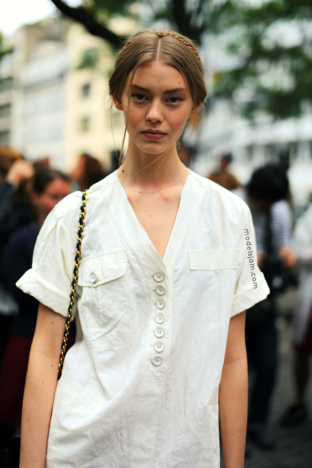 Ondria Hardin Is A Luxe Vision For Vogue Russia By Mariano: MODELS JAM: Ondria Hardin After Valentino, Paris, July 2013