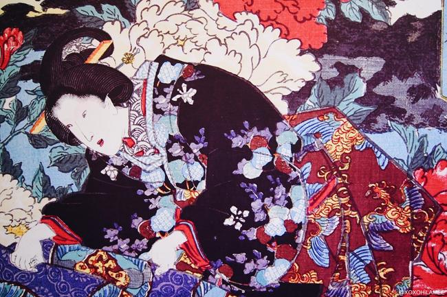 由志園 池泉牡丹 島根県 花 日本庭園 浮世絵