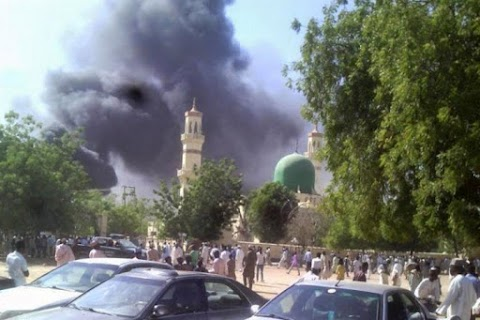 Suicide bombers launch separate attacks on Borno Mosque, security post