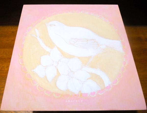 paso a paso pintar ave acrilicos pintura decorativa