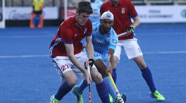India vs Great Britain Hockey