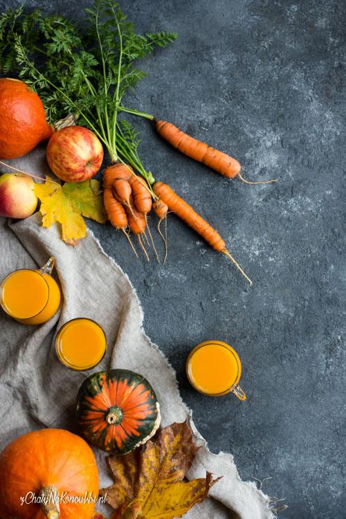 sok marchewkowy z dynia