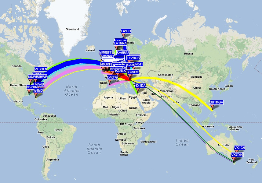 WSPR and antenna radiation pattern | QRPblog
