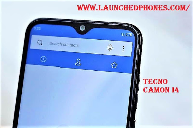 mobile telephone launched inwards Republic of Republic of India every bit the cheapest triple Tecno Camon i4: the cheapest triple-camera telephone