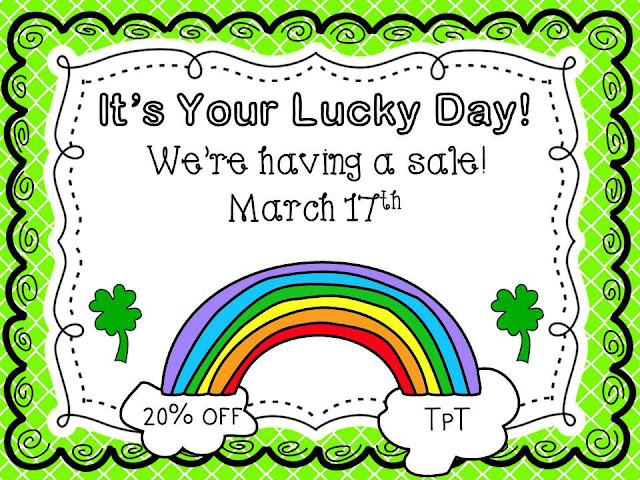 Fern Smith's 20% off TPT sale, March 17th and 18th!