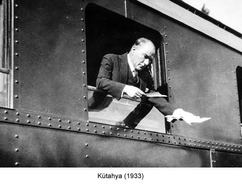 Atatürk Kütahya 1933 Fotoğraf