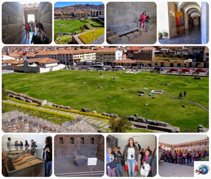 City Tour em Cuzco - Templo do Sol - Peru