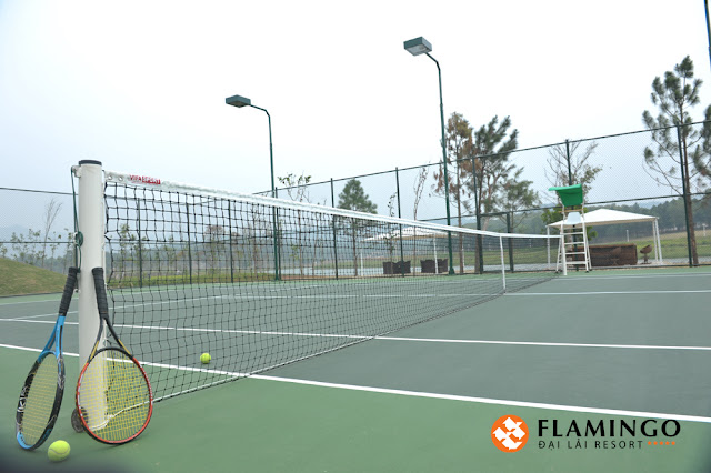 san tennis flamingo dai lai