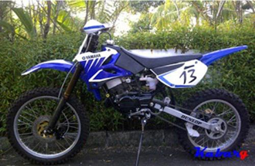 referensi motor rx king modif trail
