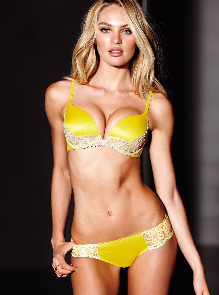 Candice Swanepoel ♥ Victoria's Secret Lingerie July 2012