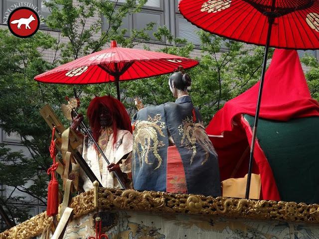 Décoration de char de Gion matsuri