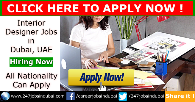 Latest Interior Designer Jobs Vacancies In Dubai