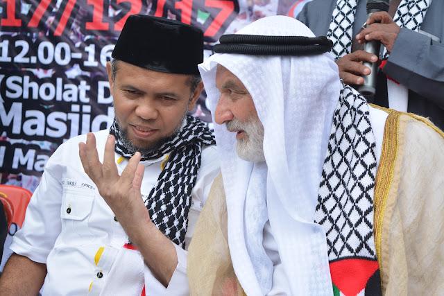 Salman Alfarisi : Masjid Al Aqso Adalah Kekuatan Politik Islam