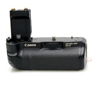Jual baterai Grip Canon eos 400D