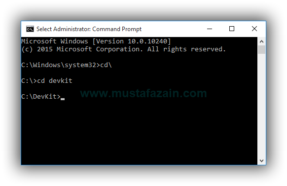 Cara Instal WPScan di Windows 10