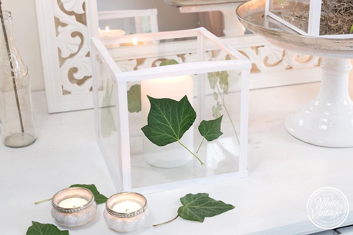 DIY-Deko: Windlicht aus Acrylglas basteln.