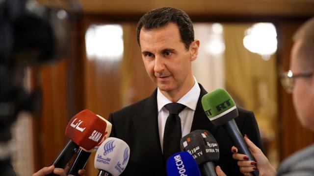 Presidente sirio tacha de 'traidores' a kurdos apoyados por EEUU