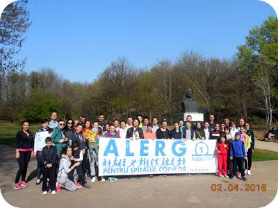 Craiova 02 Aprilie - Alerg pentru Spitalul Copiilor