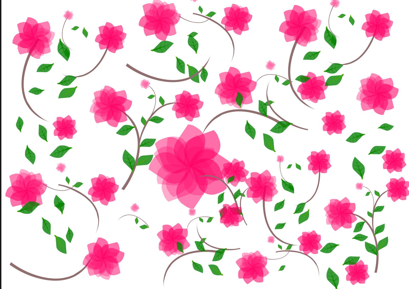 Bunga Wallpaper Vektor