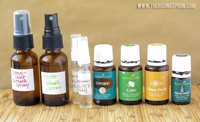 DIY Breath Spray (Healthy Alternative to Bubble Gum & Mints)