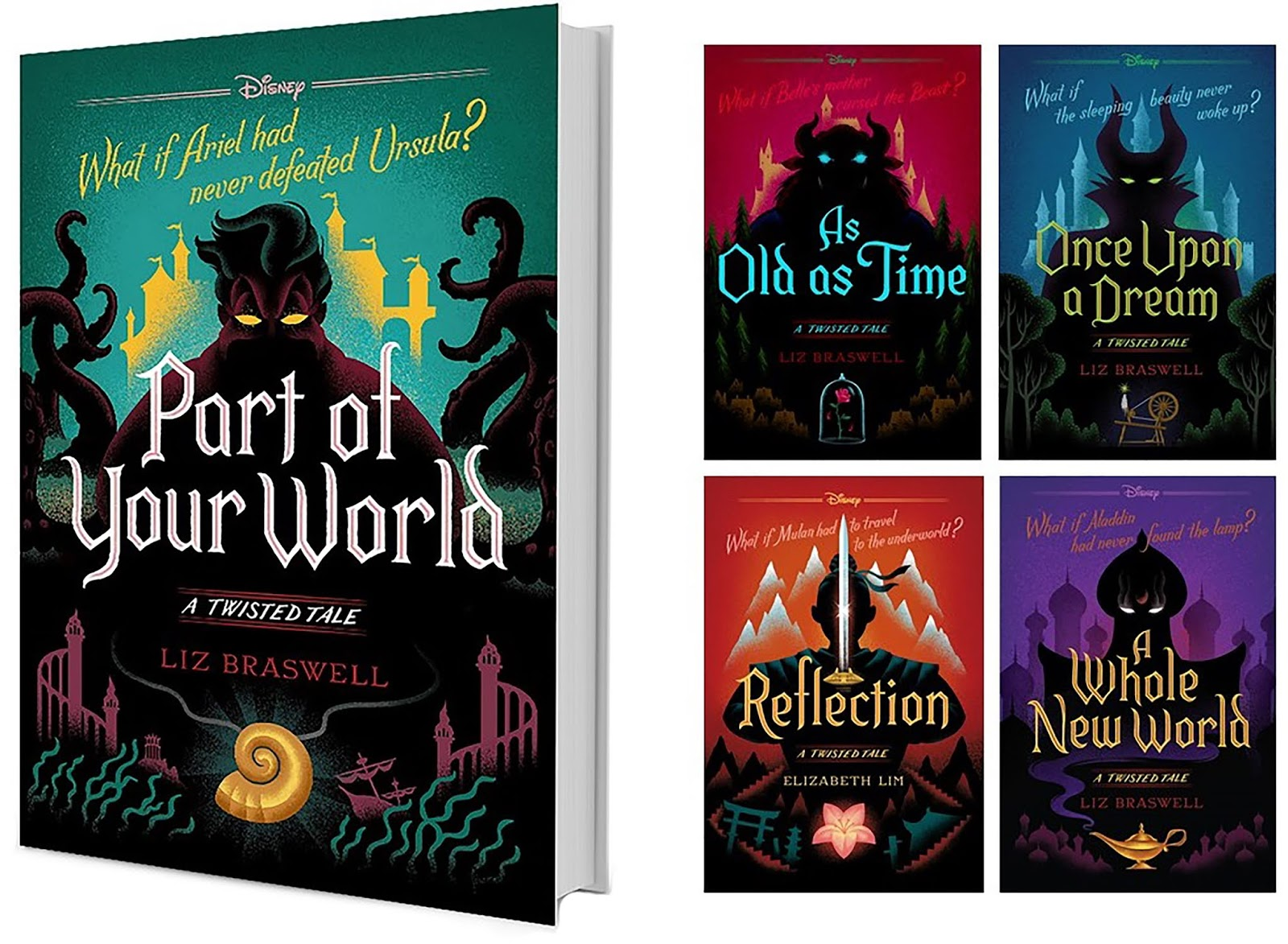 Image result for Disney's A Twisted Tale Collection fully booked