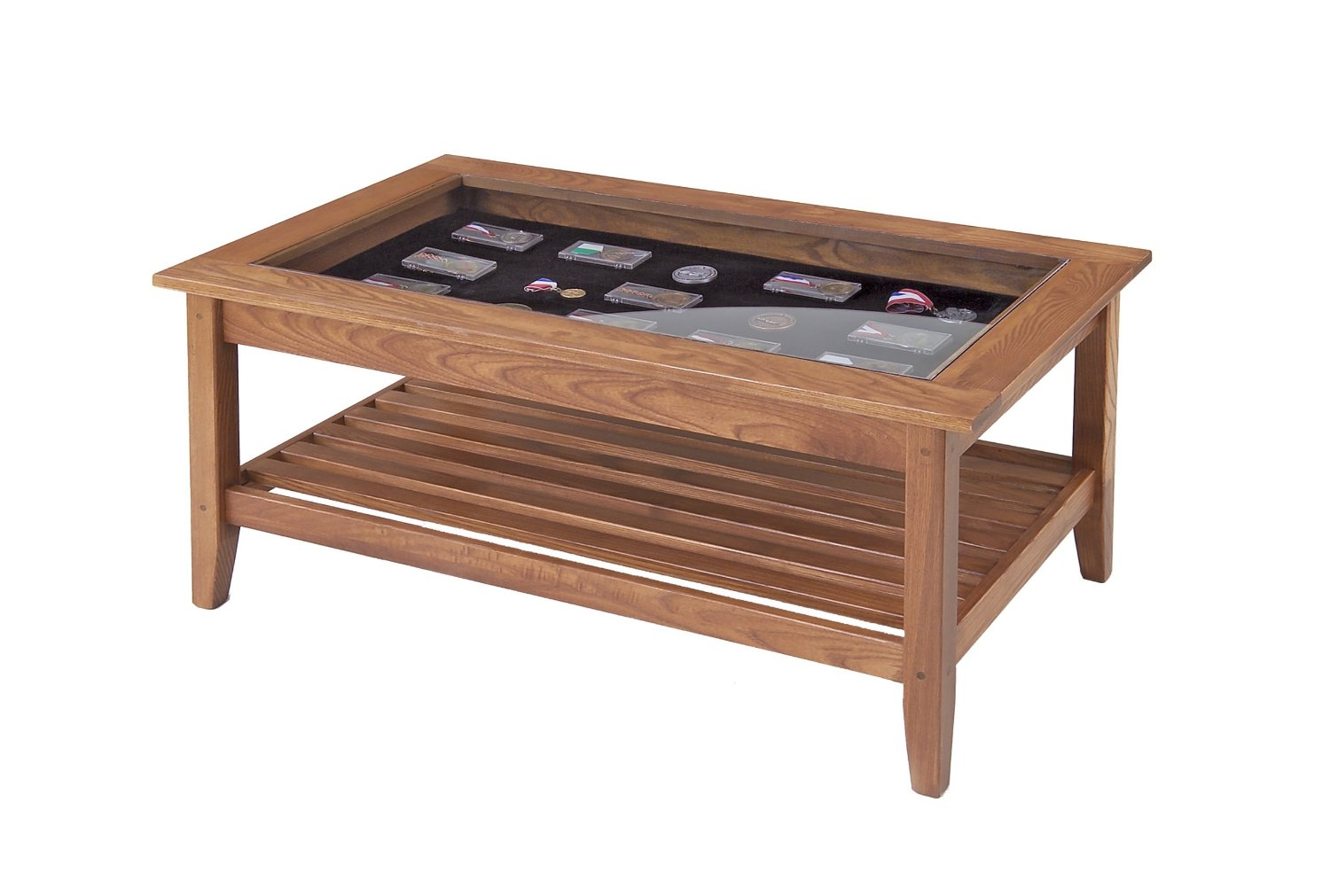 Glass Top Display Case Coffee Tables Total Fab