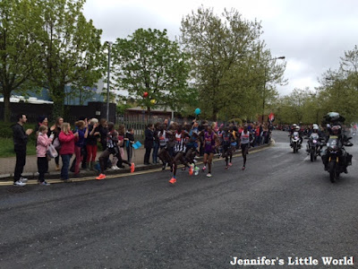 The London Marathon 2015