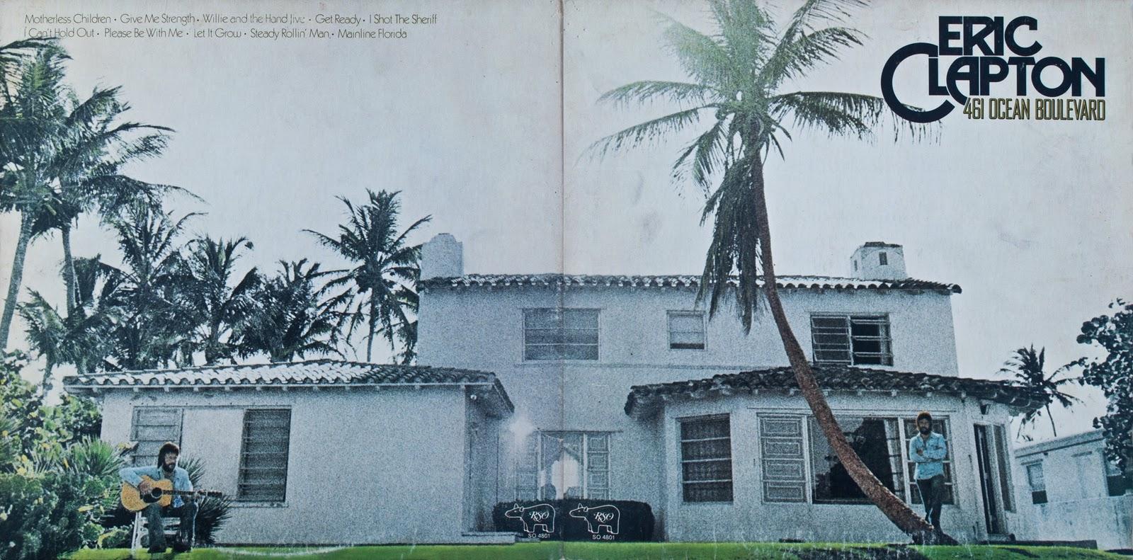 DAVID'S ROCK SCRAPBOOK: Eric Clapton 7/21/74