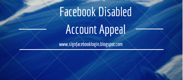 Disabled Account Appeal Id Request