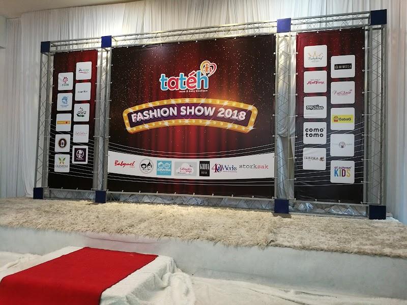 Gelagat Lucu di Tateh Fashion Show 2018