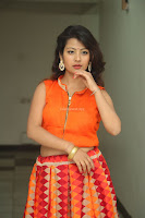 Shubhangi Bant in Orange Lehenga Choli Stunning Beauty ~  Exclusive Celebrities Galleries 066.JPG