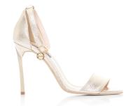 sandale aurii cu toc inalt, sandale aurii piele naturala, sandale piele cu toc inalt