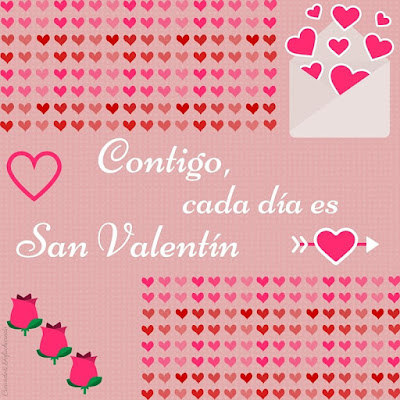 Freebie San Valentin corazones