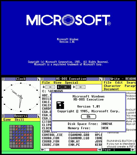 Wallpaper Desktop Windows dari tahun ke tahun