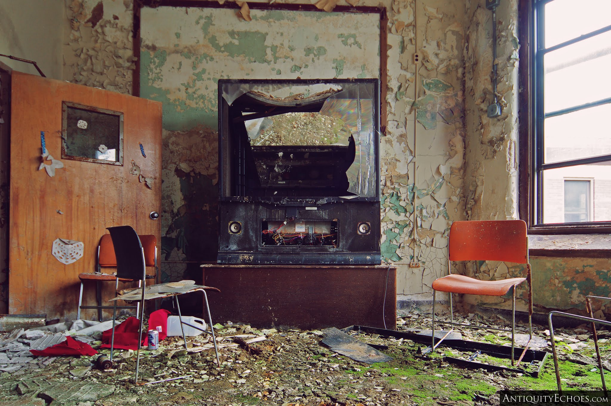 Overbrook Asylum - Ruined Media Room