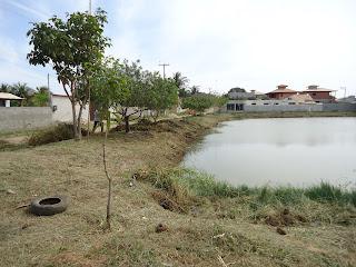 Limpeza da Lagoa de José Gonçalves