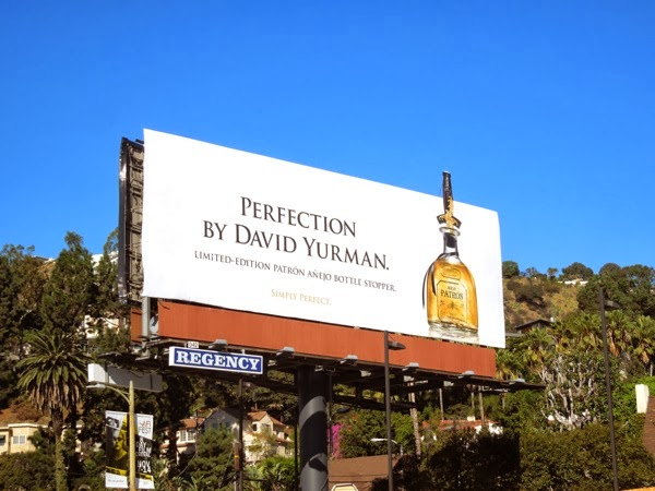 Patron Tequila David Yurman billboard
