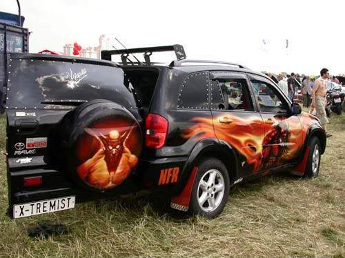 Amazing Custom Car Paintings