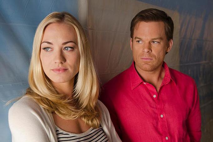 Hannah McKay y Dexter en la última temporada de la serie de Showtime