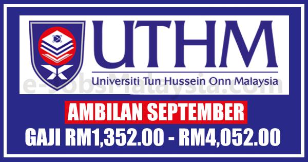 Universiti Tun Hussein Onn Malaysia UTHM