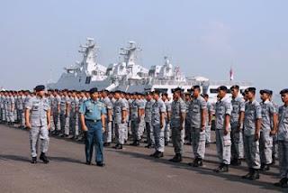 latihan militer Indonesia