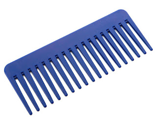 Use a wide-toothed comb