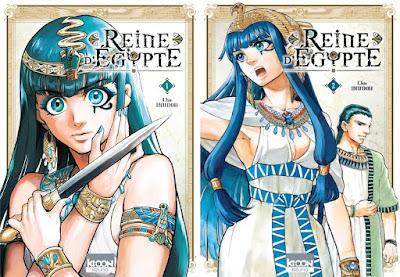 Reine d'Egypte tome 1 et 2 / Chie Inudoh