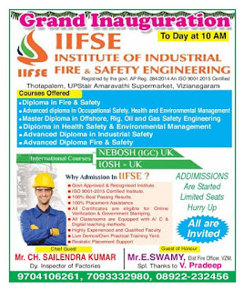 Institute of Industrial Safety engineering  Vizianagaram