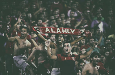Ahly fans by AFP