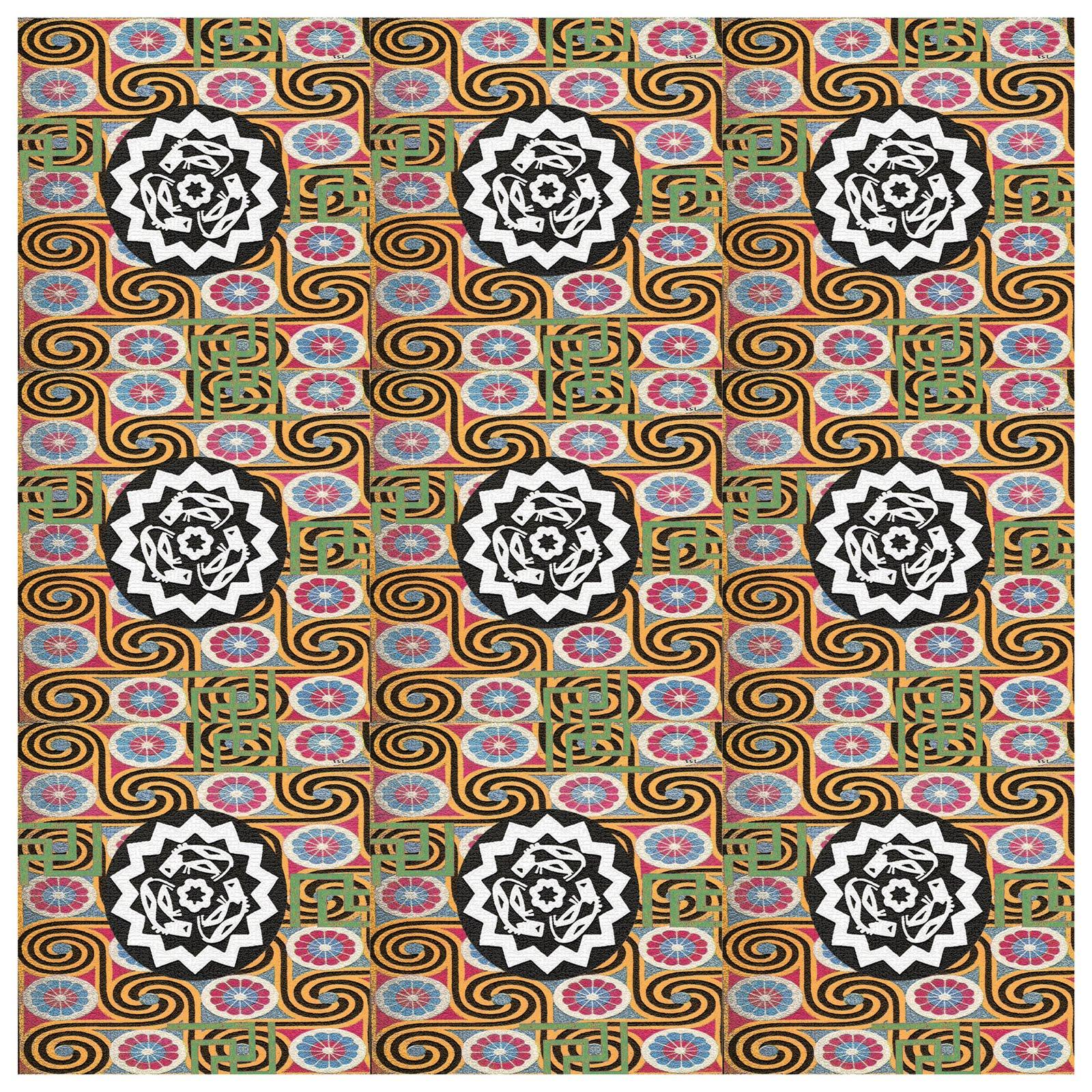 Egyptian Textile Pattern | Taryn Blache Design Portfolio