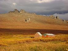 Área de Preservação Nacional Ponte Terrestre de Bering no Alasca