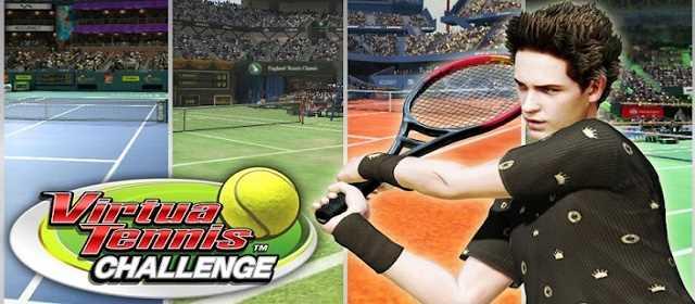Virtua Tennis Challenge apk Android Tenis Oyunu indir