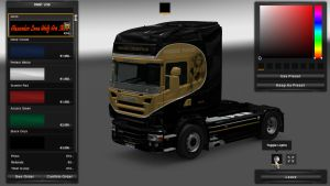 Orion Transport Skin for Scania RJL
