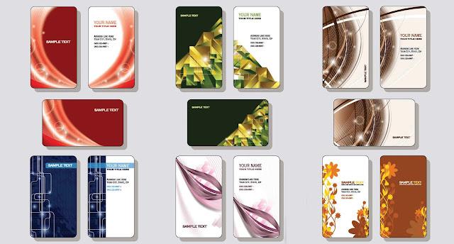 تحميل بطاقات الشخصية و المهنية